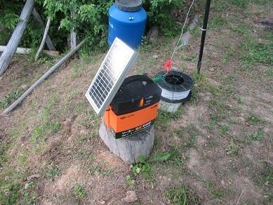 電気柵ソーラー電池