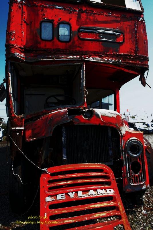 赤いバス(blog)