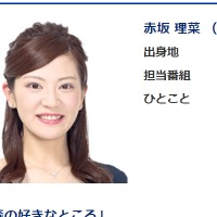 赤坂理菜アナ