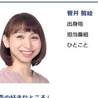 菅井智絵アナ