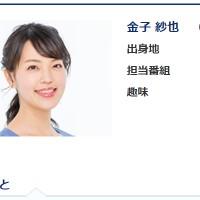 金子紗也アナ