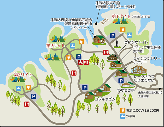 campsitemap