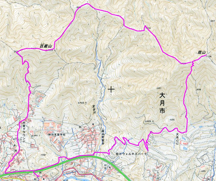百蔵山01
