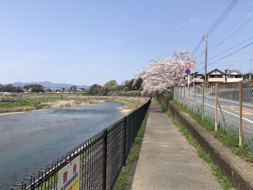 秋川サイクリングロード01