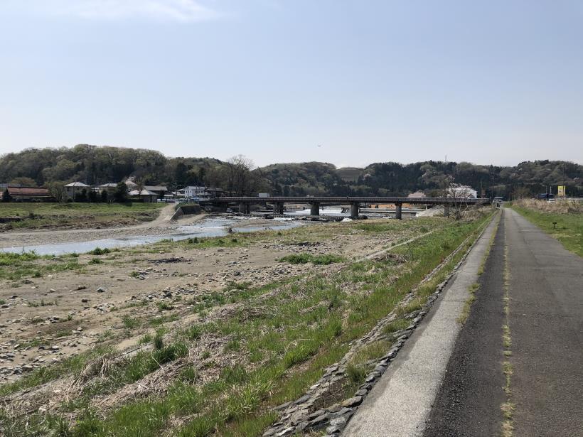 秋川サイクリングロード02