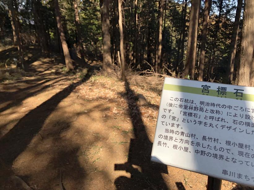 天王山ハイキングコース77