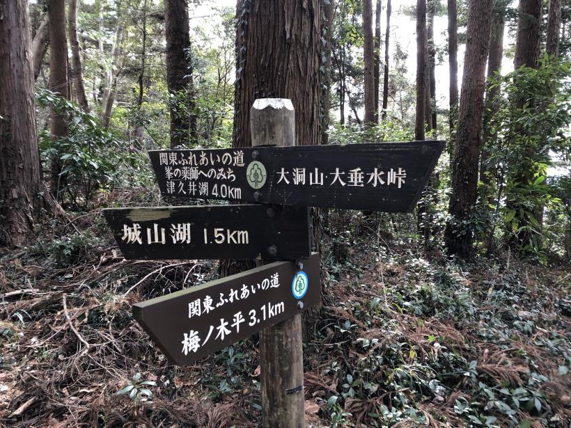 城山湖から大垂水峠へ12