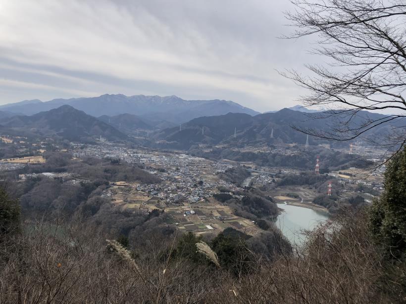 城山湖から大垂水峠へ40
