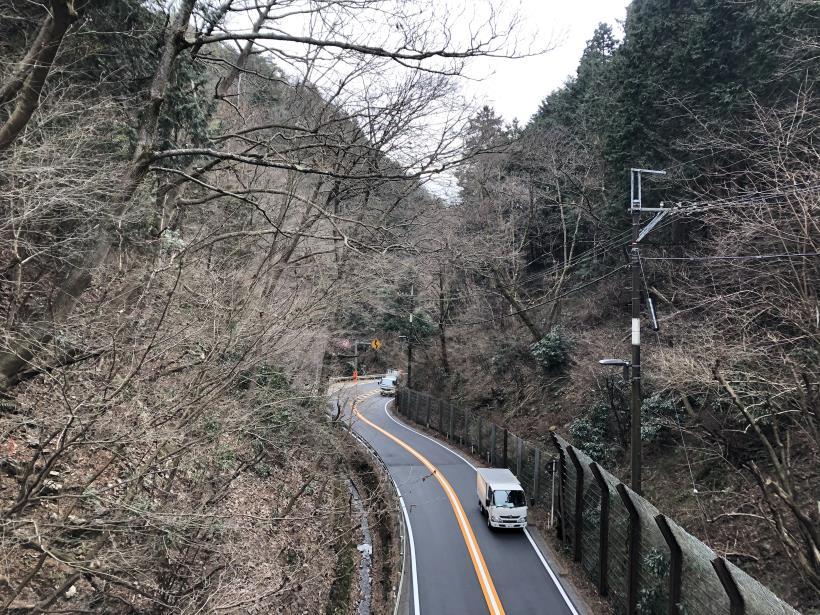 城山湖から大垂水峠へ132