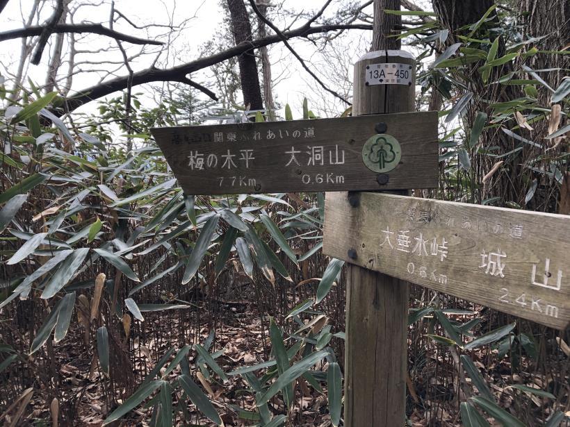 城山湖から大垂水峠へ144