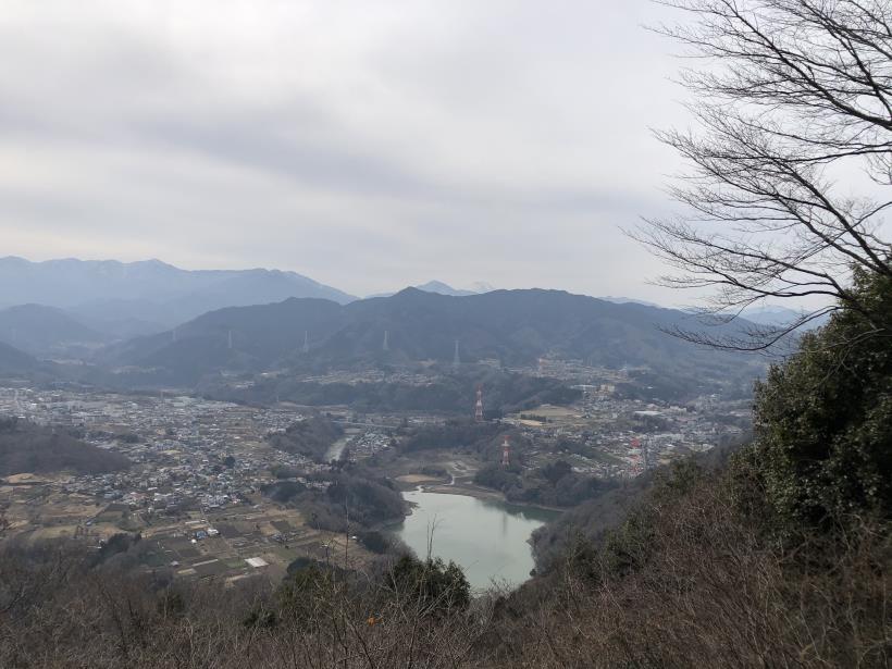 城山湖から大垂水峠へ161