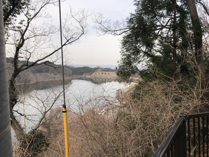 城山湖から大垂水峠へ170