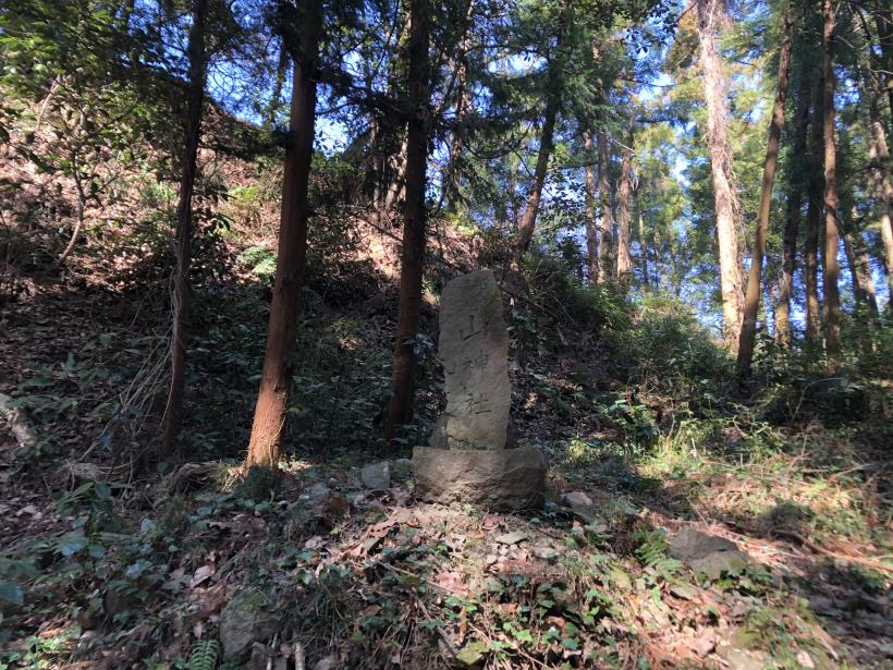 横沢入の石切り場跡31