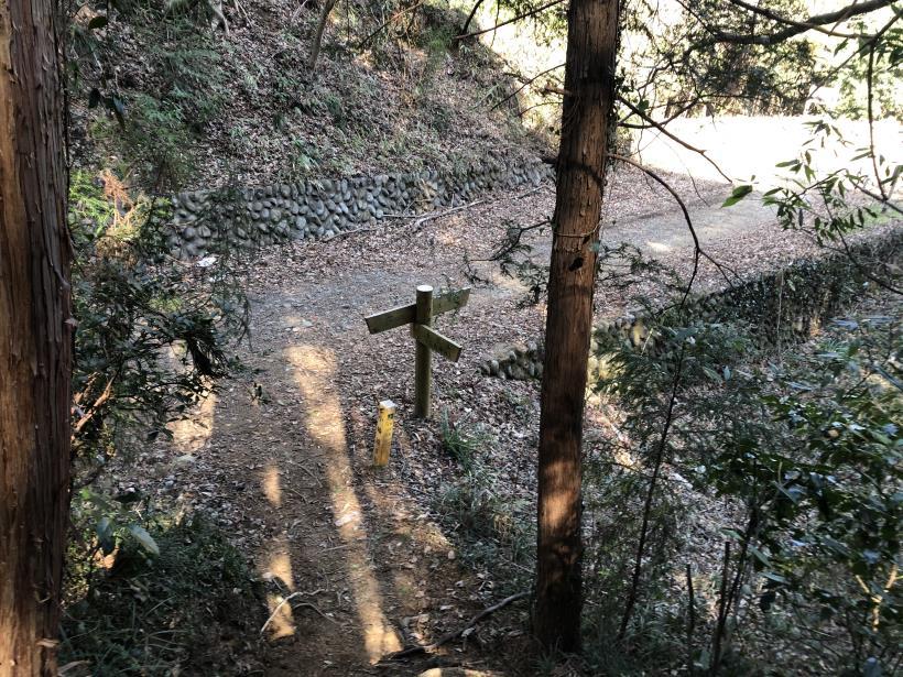 横沢入の石切り場跡57
