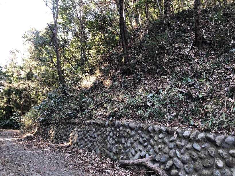 横沢入の石切り場跡58