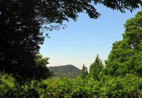 200511見瀬城跡から畝傍山