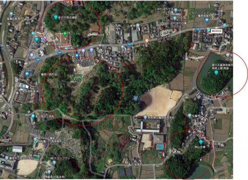 2005新沢千塚古墳群地図