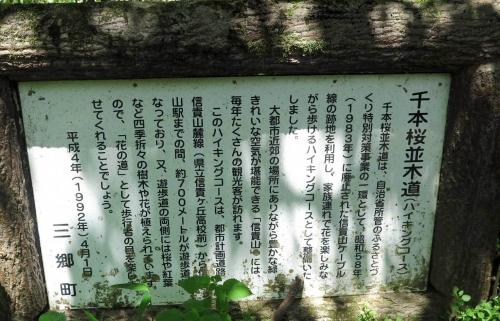 200521千本桜ハイキングコース説明
