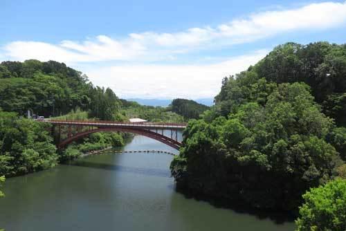 200521開運橋から信貴大橋