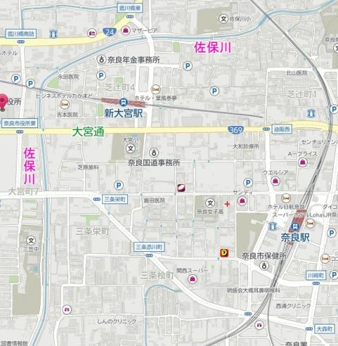 200727佐保川地図
