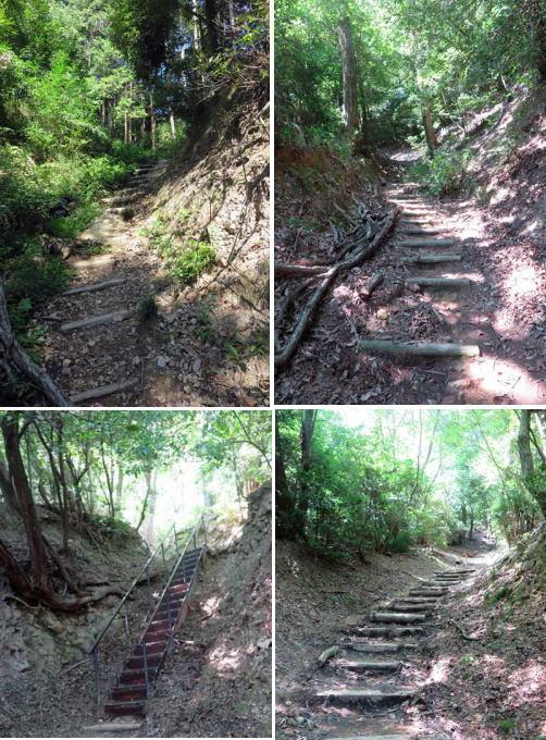 200826二上山へ階段