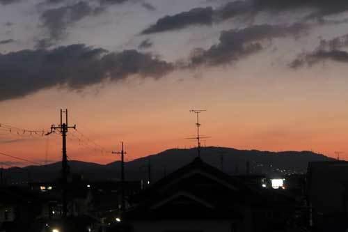 201014夕焼け