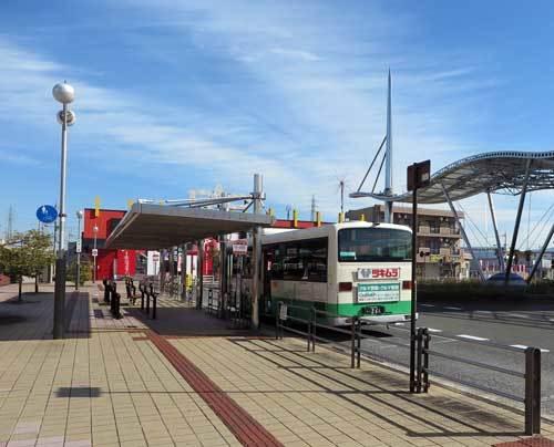 201105バス乗り場