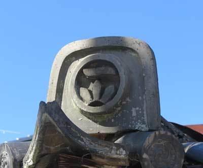 201115家紋入り鬼瓦