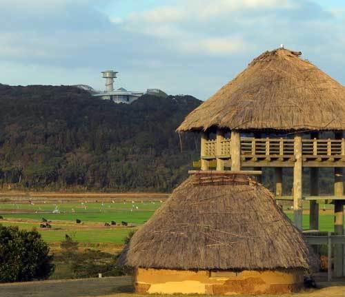 201208原の辻遺跡から一支国博物館2