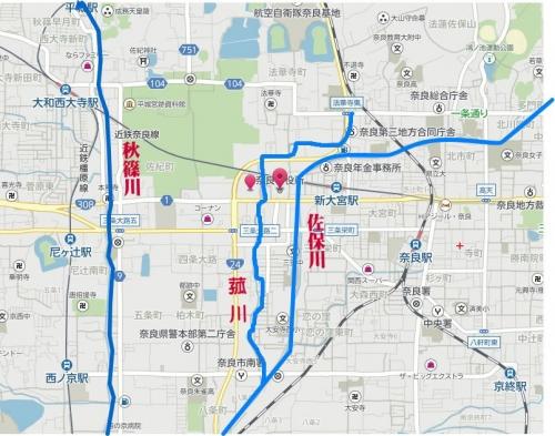 2021奈良市地図