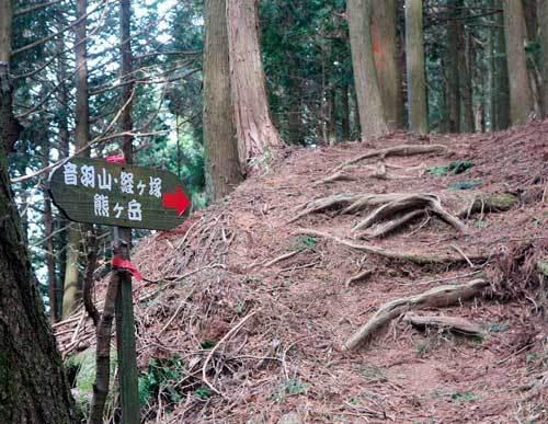 210212音羽三山へ標識