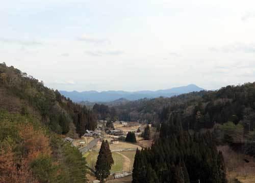 210212宮奥ダムから高見山