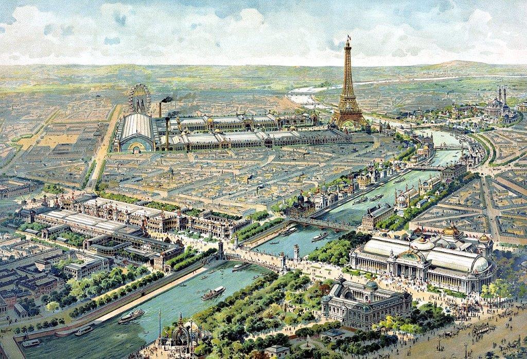 1900年パリ万国博覧会~パノラマビュー