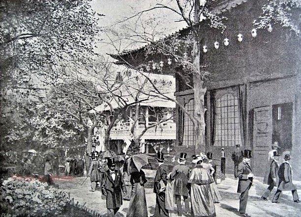 パリ万国博覧会・日本館の図版