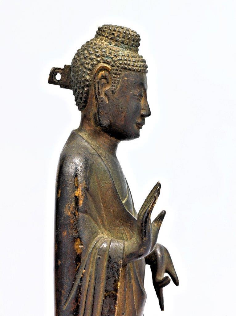 法隆寺献納宝物(四十八体仏)150号如来立像