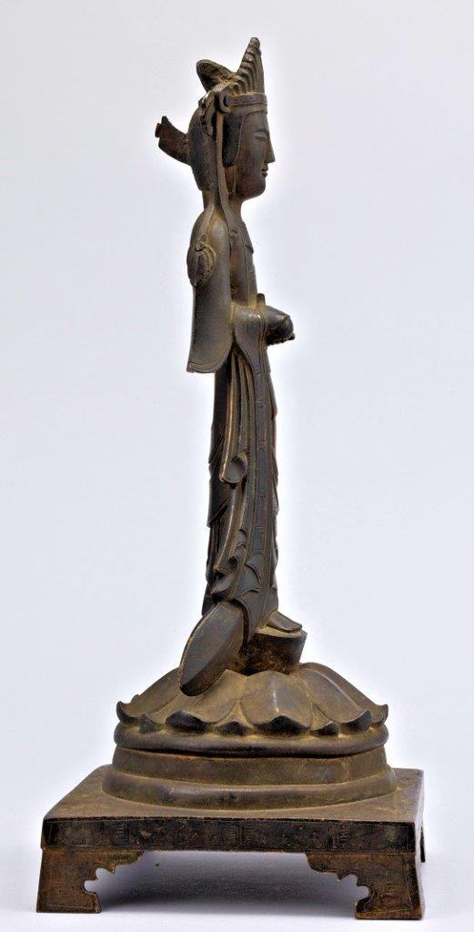 法隆寺献納宝物(四十八体仏)165号辛亥銘観音菩薩立像
