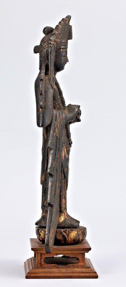 法隆寺献納宝物(四十八体仏)166号観音菩薩立像