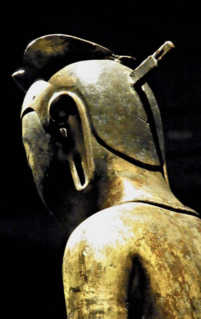 韓国国宝83号像~背面頭部