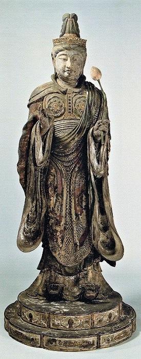 根津美術館蔵・興福寺伝来 定慶作帝釈天像