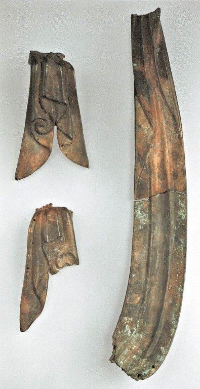 二月堂・秘仏「大観音」の天衣の断片