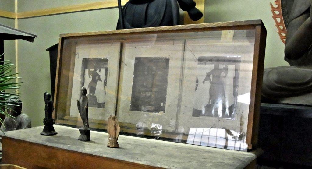 桜井興善寺堂内の古写真