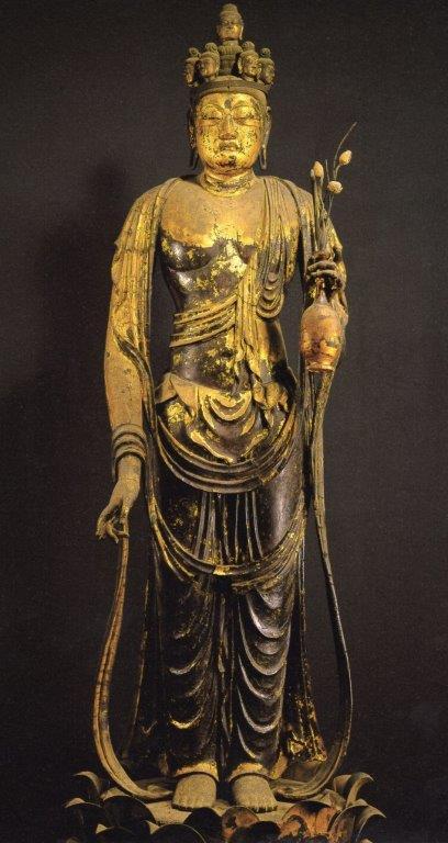 聖林寺・十一面観音像(奈良・国宝)
