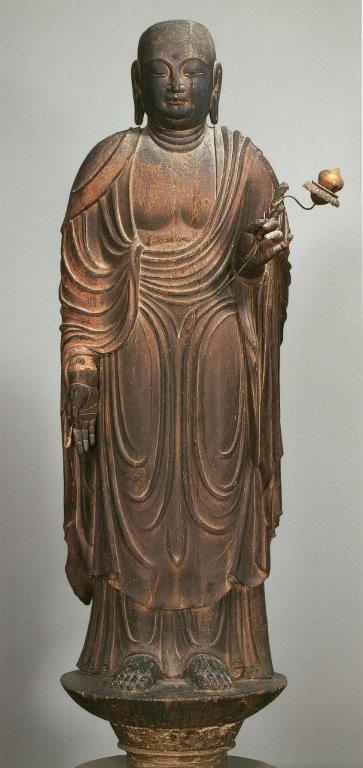法隆寺・地蔵菩薩像(平安前期・国宝)