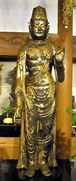 正暦寺・菩薩像(大御輪寺旧仏)