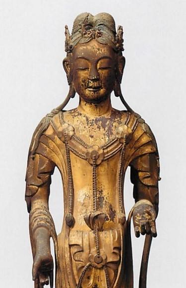 213.美術史時代区分①:法隆寺・六観音像(文殊菩薩)