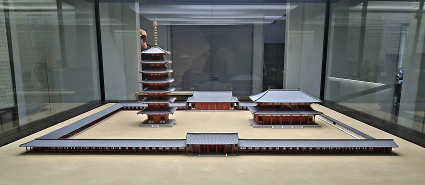 217.龍峰寺:相模国分寺・伽藍復元模型