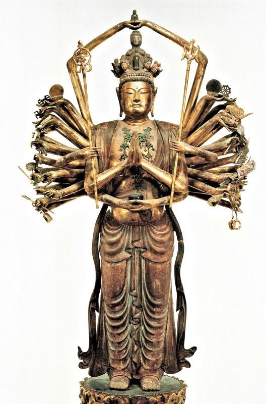 217龍峰寺:龍峰寺・千手観音像