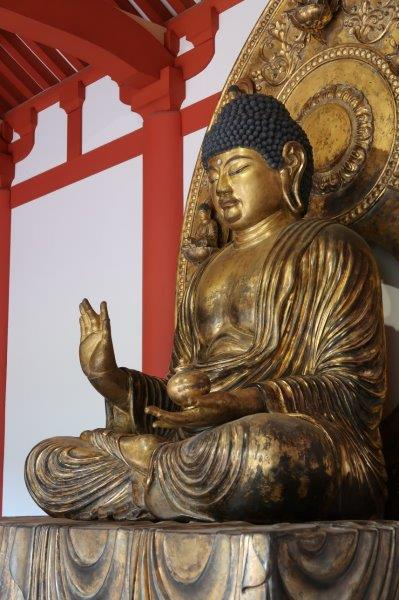 218仏像の修理修復:会津慧日寺・本尊薬師如来~復元製作像