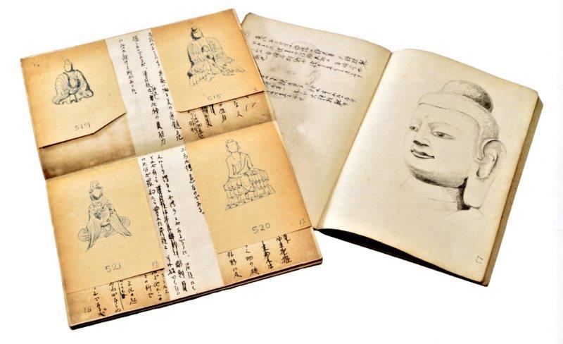 219振り返り①:小杉一雄展・小杉一雄仏像スケッチメモ