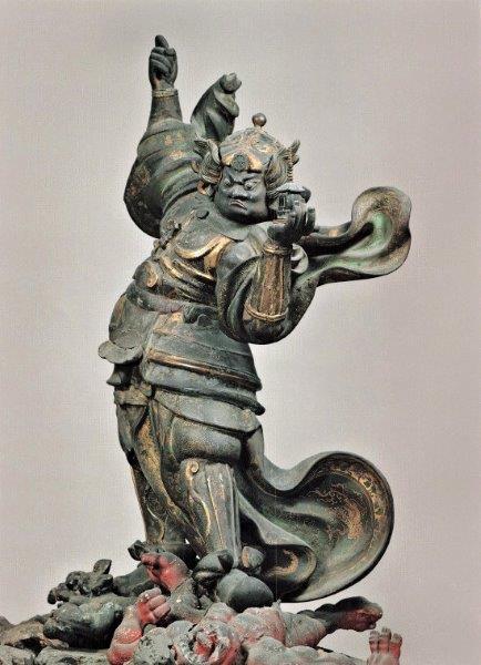 219振り返り①:弘源寺・毘沙門天像